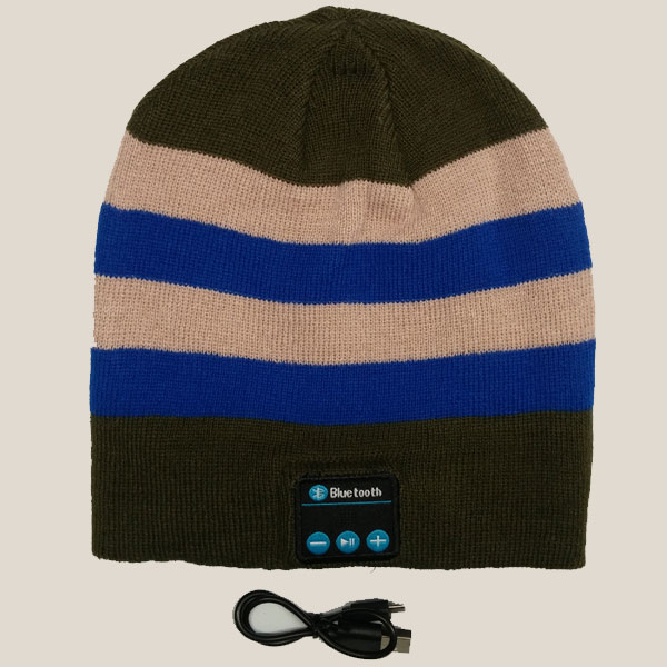 Khaki Blue Youth Beanie - Savage Bluetooth ca45de320e6
